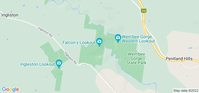 Falcons Lookout, Werribee Gorge, Austrália