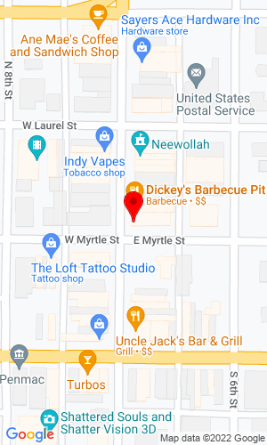 Google Map of Farmers' Implement 1200 Maple Avenue, Columbus, WI, 53925