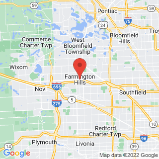 Farmington Hills, Michigan industrial painting service area