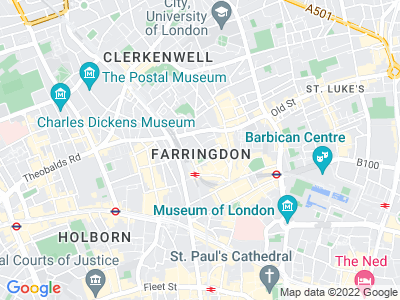 Personal Injury Solicitors in Farringdon