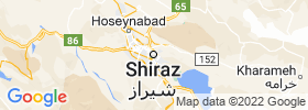 Shiraz map