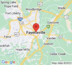 Job Map - Fayetteville, North Carolina  US