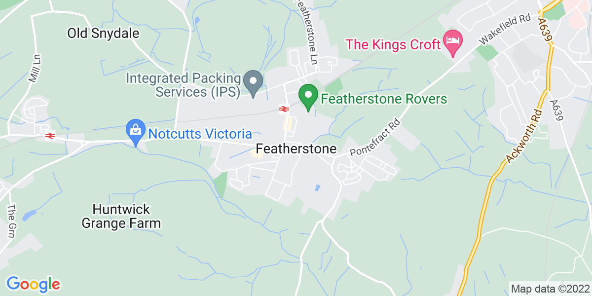 Map: Multi-Skilled Engineer - Mechanical job role in Featherstone
