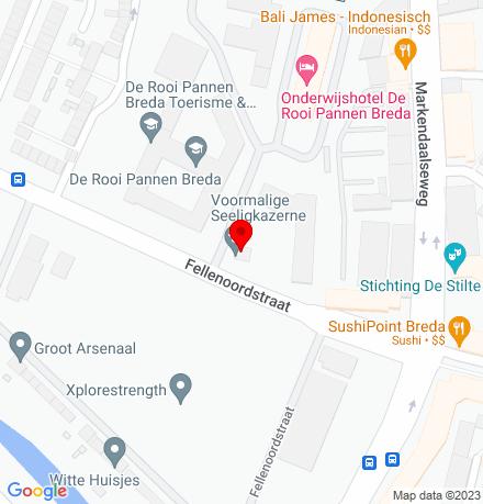 Google Map of Fellenoordstraat 93 4811 TH Breda