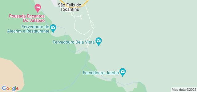 Fervedouro Bela Vista, Jalapão, São Félix do Tocantins