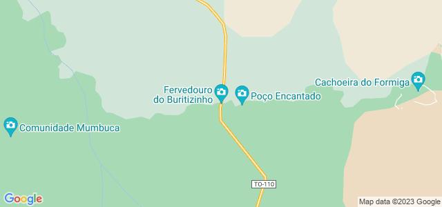 Fervedouro Buritizinho, Jalapão, Tocantins