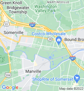 Finderne NJ Map