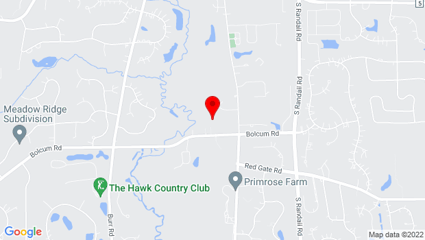 Google Map of Fine Line Creative Arts Center, 37W570 Bolcum Rd, Saint Charles, IL 60175