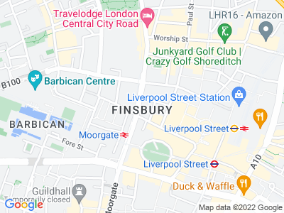 Personal Injury Solicitors in Finsbury