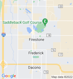 Firestone CO Map