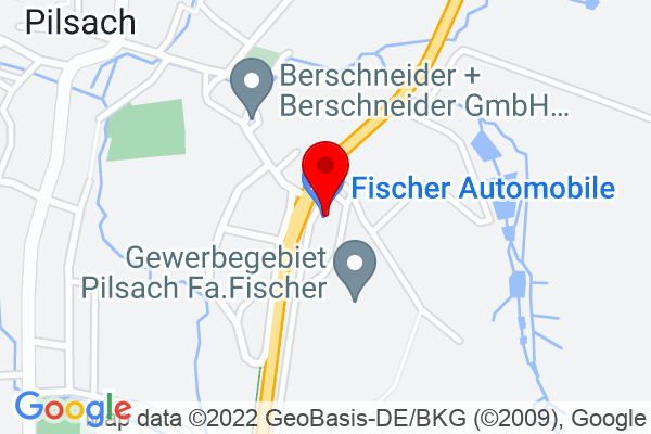 Google Map of Fischer Automobile GmbH Amberger Straße 2a 92367 Pilsach
