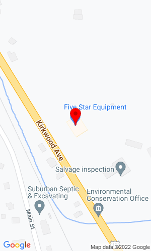 Google Map of Five Star Equipment, Inc. 1653 US Route 11, Kirkwood, NY, 13795