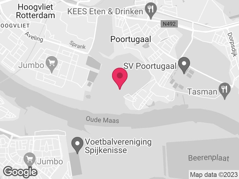 Google Map of Fivoor Kijvelandsekade 1 3172 AB Poortugaal