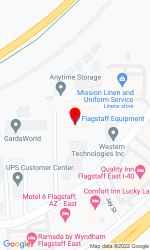 Google Map of Flagstaff Equipment, Inc. 500 North Grant Street, Flagstaff, AZ, 86004