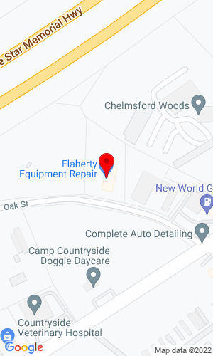 Google Map of Flaherty Equipment 24 Republic Road, Billerica, MA, 01821