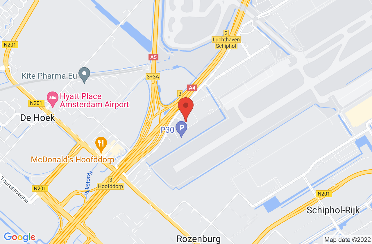 Austrian Airlines Cargo on Google Maps