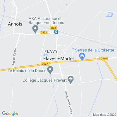 bed and breakfast Flavy-le-Martel