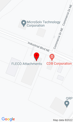 Google Map of Fleco Attachments 2216 Mercantile Drive, Leland, NC, 28451