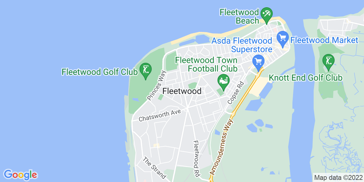 Map: Accountant position in Fleetwood