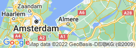 Almere Stad map