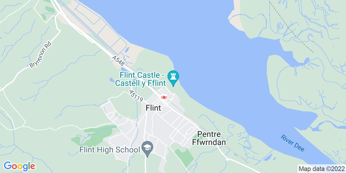 Map: Production Manager job role in Flint Castle