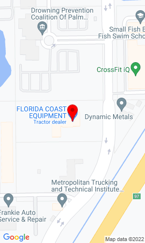Google Map of Florida Coast Equipment 357 Pike Road, West Palm Beach, FL, 33411