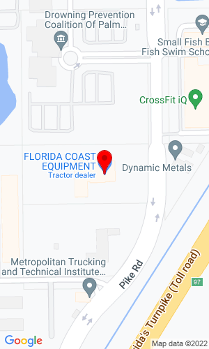 Google Map of Florida Coast Equipment 357 Pike Road, West Palm Beach, FL, 33411,
