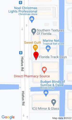Google Map of Florida Track & Power 37925 Vitality Way, Dade City, FL, 33523