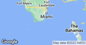 Map of Florida Keys, Florida