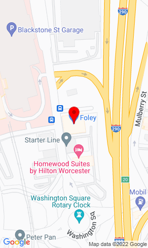 Google Map of Foley Engines 200 Summer Street, Worcester, MA, 01604