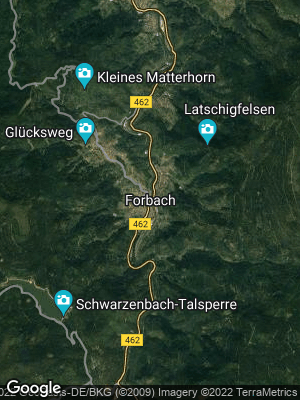 Google Map of Forbach