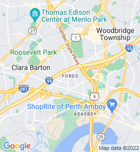 Fords NJ Map