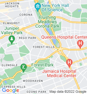 Forest Hills NY Map