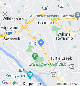 Forest Hills PA Map