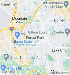 Forest GA Map