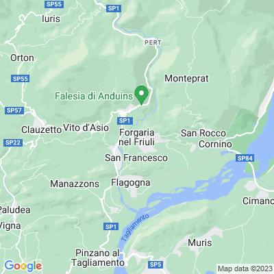 cartina Forgaria Nel Friuli