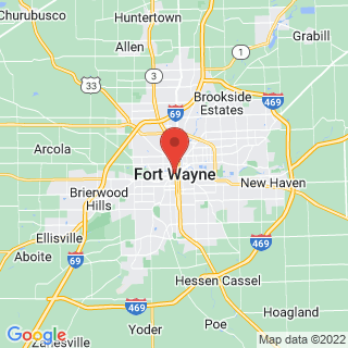 Fort Wayne, Indiana industrial painting service area