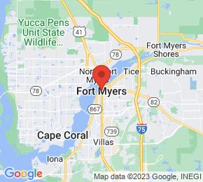 Job Map - Fort Myers, Florida  US