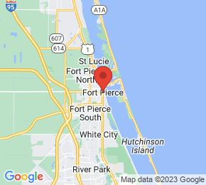 Job Map - Fort Pierce, Florida  US