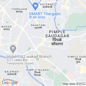 Google Map of Fortuna, Near Shivar Garden Chowk, Pimple Saudagar, Pune - 411027