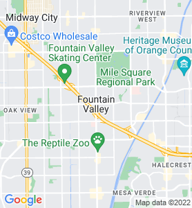 Fountain Valley CA Map