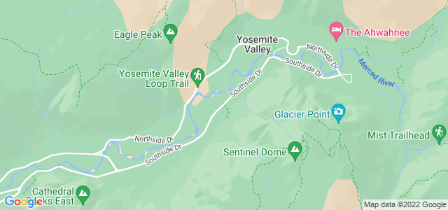 Four Mile, Parque Nacional de Yosemite, Califórnia, USA