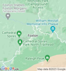 Foxton CO Map
