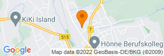 Google Map of Fröndenberger Str. 42 58706 Menden
