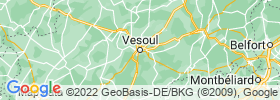 Vesoul map