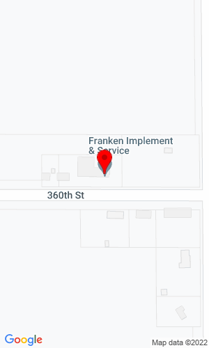 Google Map of Franken Implement & Service 2782 360th Street, Rock Valley, IA, 51247-7511