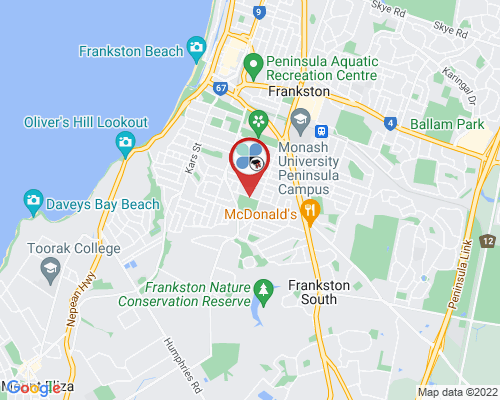 Frankston google map