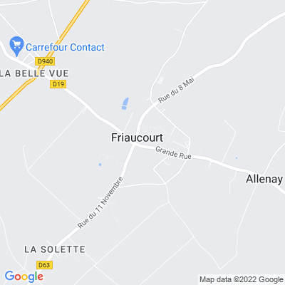 bed and breakfast Friaucourt
