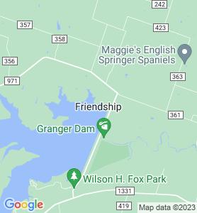 Friendship TX Map