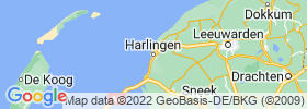 Harlingen map